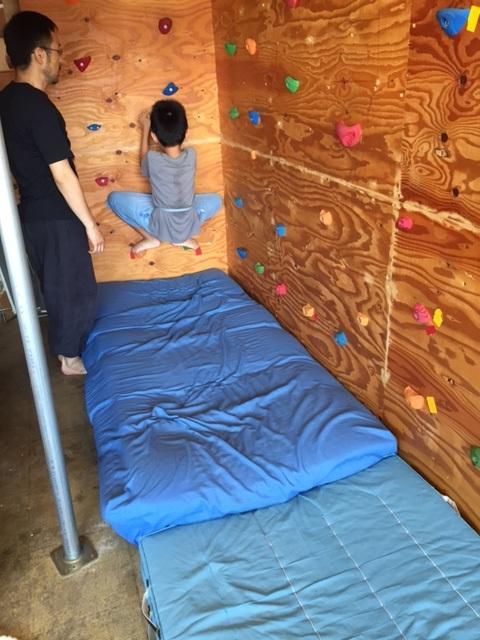 壁登りスタート 夏期講習